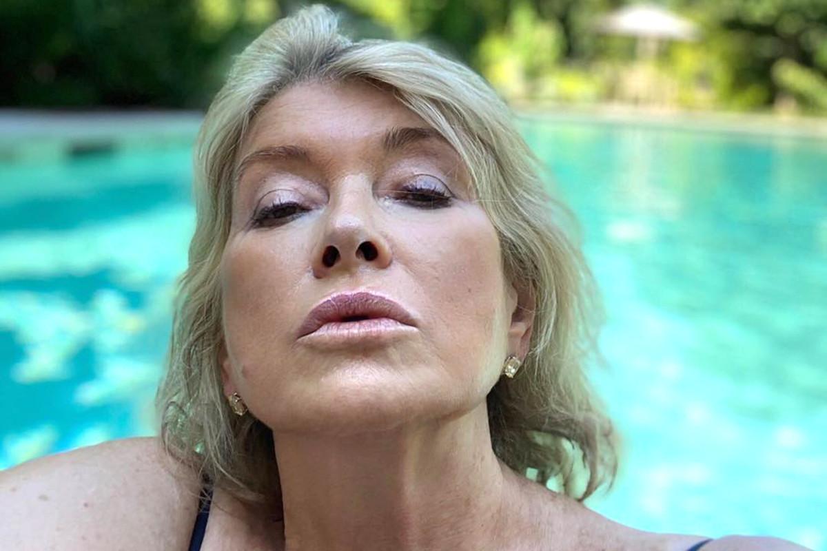 Martha Stewart membahas foto viral 'haus trap'