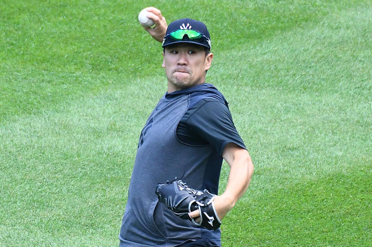 Masahiro Tanaka bersiap untuk langkah besar ketika shuffle rotasi Yankees dimulai