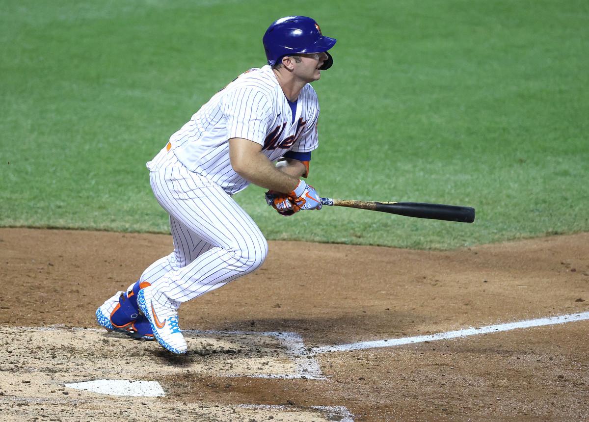 Mets 'Pete Alonso membawa' sikap tanpa henti 'di pertandingan pertama kembali