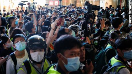 Undang-undang keamanan Hong Kong bisa berdampak buruk pada kebebasan pers