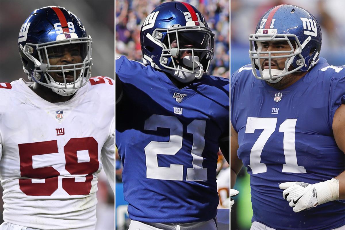 Para pemain Giants paling banyak membuktikan selama musim NFL 2020