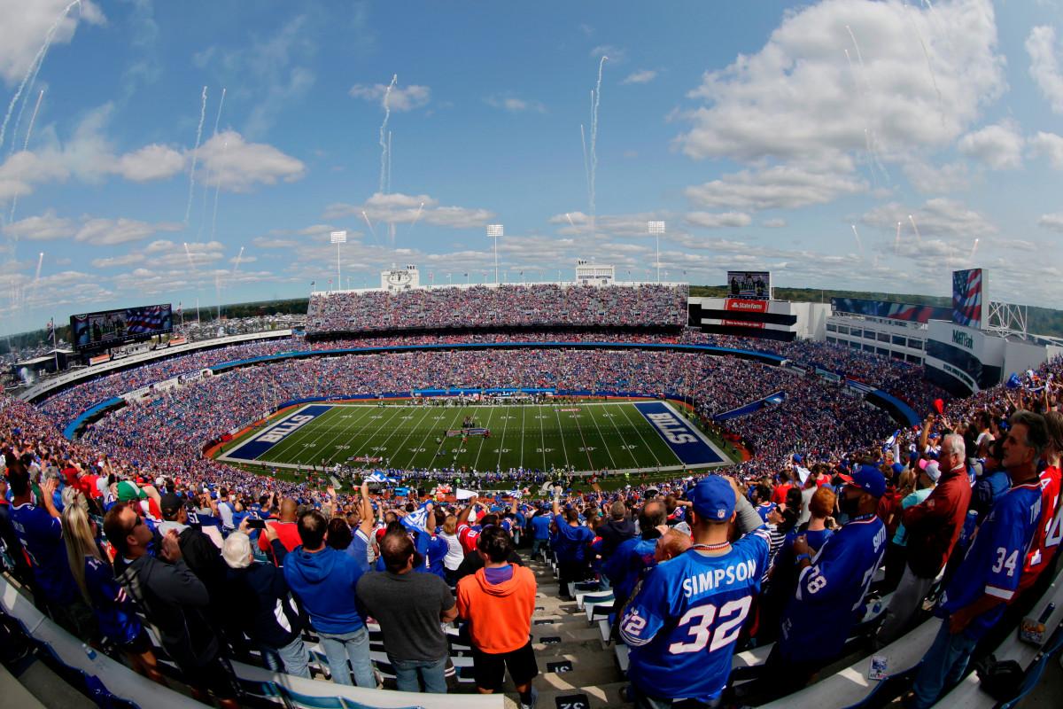 Pembuat biduan Tushy ingin mengganti nama stadion Buffalo Bills
