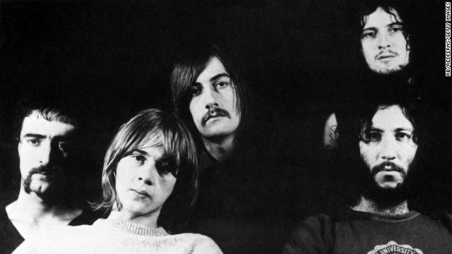 Anggota Fleetwood Mac Peter Green, Jeremy Spencer, Mick Fleetwood, Danny Kirwan dan John McVie.