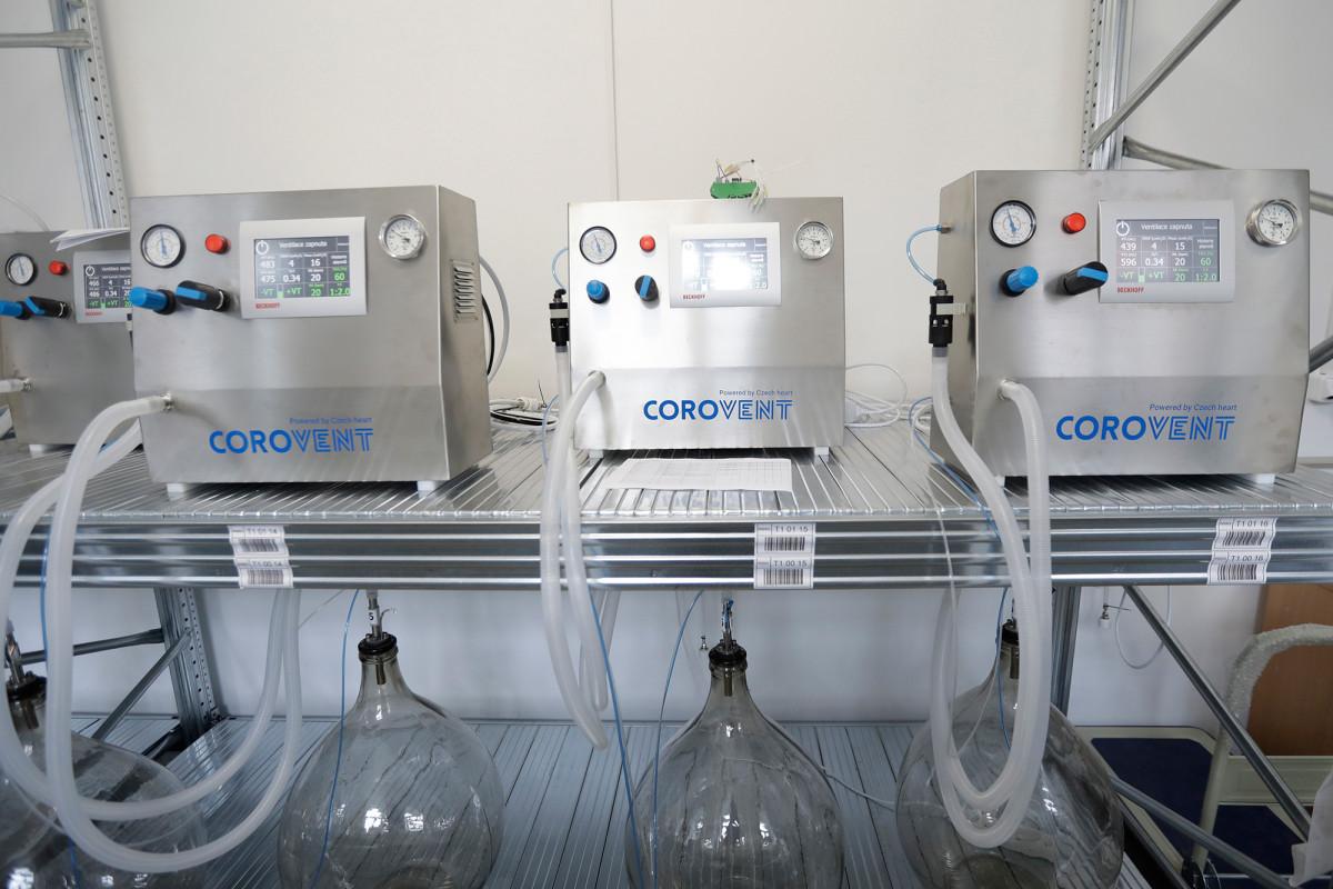 Relawan Ceko mengembangkan ventilator yang berfungsi dalam beberapa hari