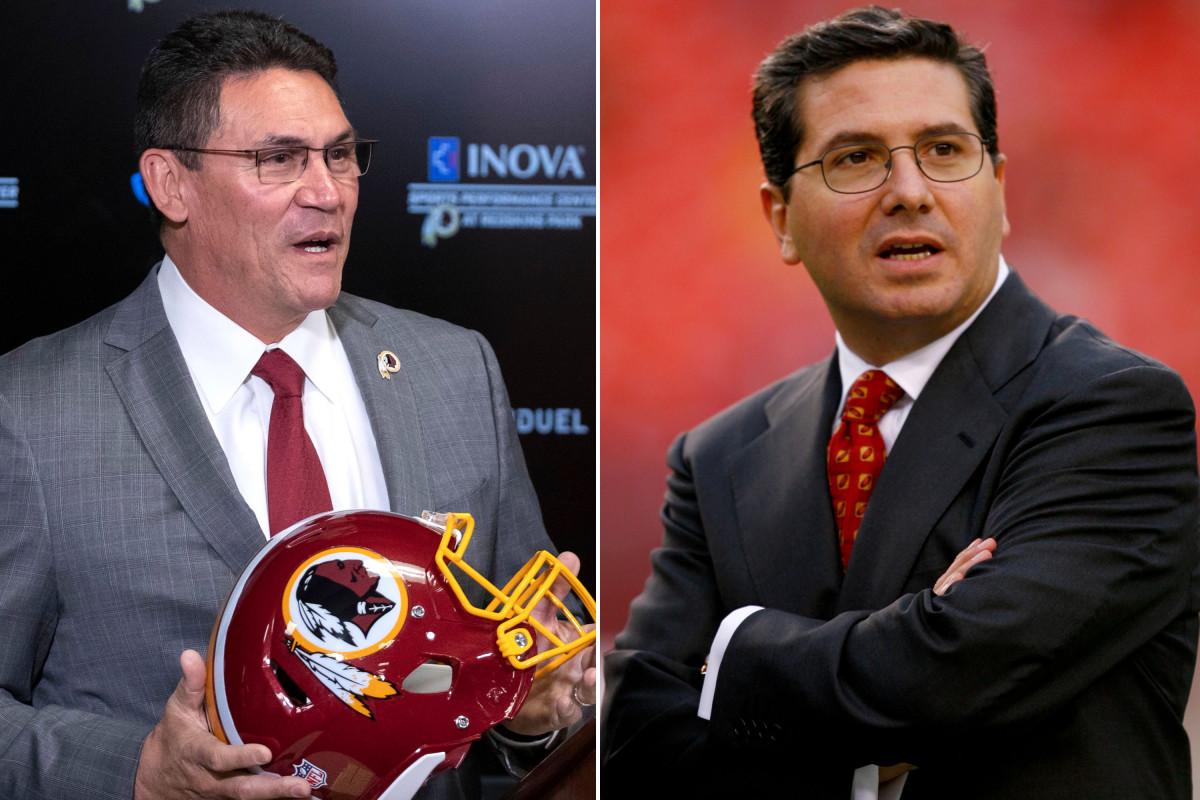 Ron Rivera mengerjakan julukan baru dengan pemilik Redskins