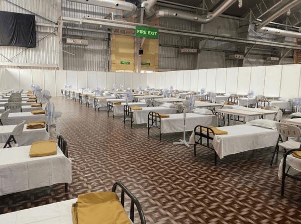 BIEC menjadi fasilitas perawatan COVID terbesar di India