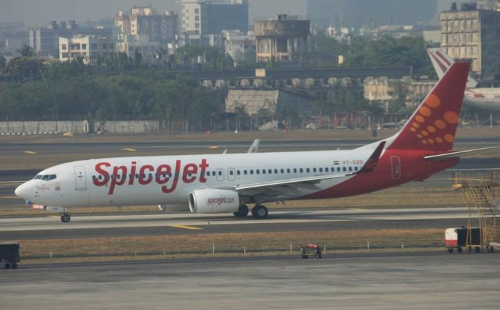 SpiceJet Boeing 737 MAX 8.