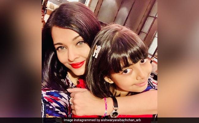 Tweet Di Aishwarya Rai Bachchan And Daughter's COVID-19 Tes