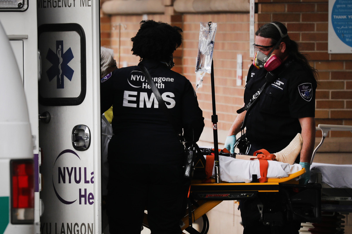 Warga New York takut wabah coronavirus lain menuju ke NYC