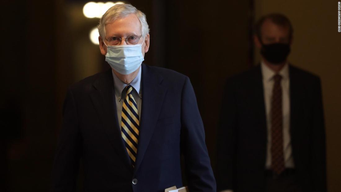 Sinyal McConnell untuk kandidat Senat Republik: Jarak dari Trump jika perlu