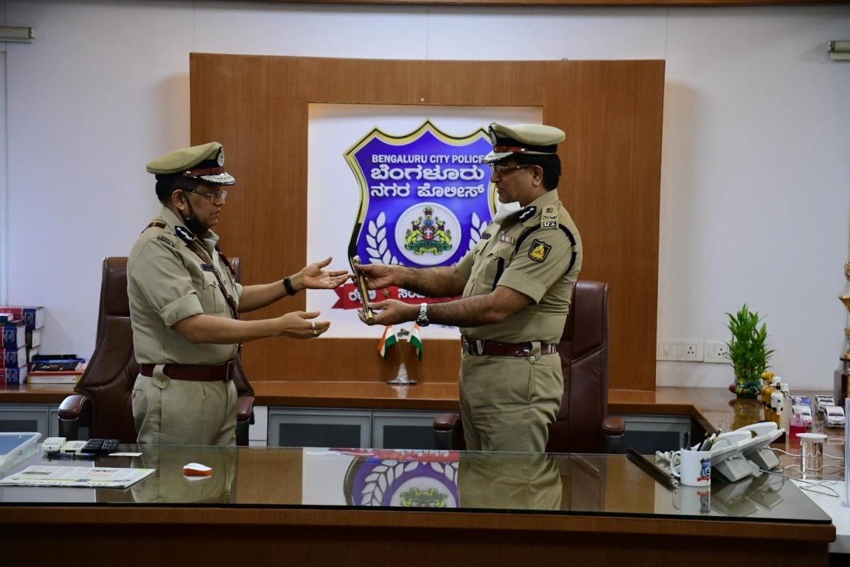 Kamal Pant takes charge as new Bengaluru City Police Commissioner