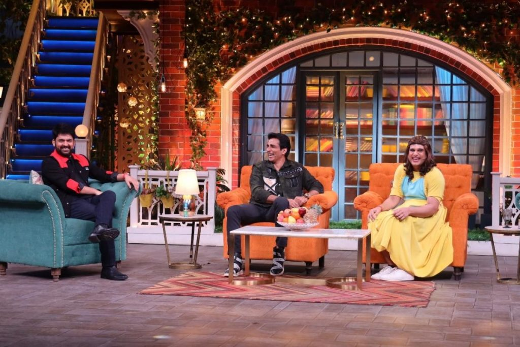 Kapil Sharma, Sonu Sood, Krushna Abhishek