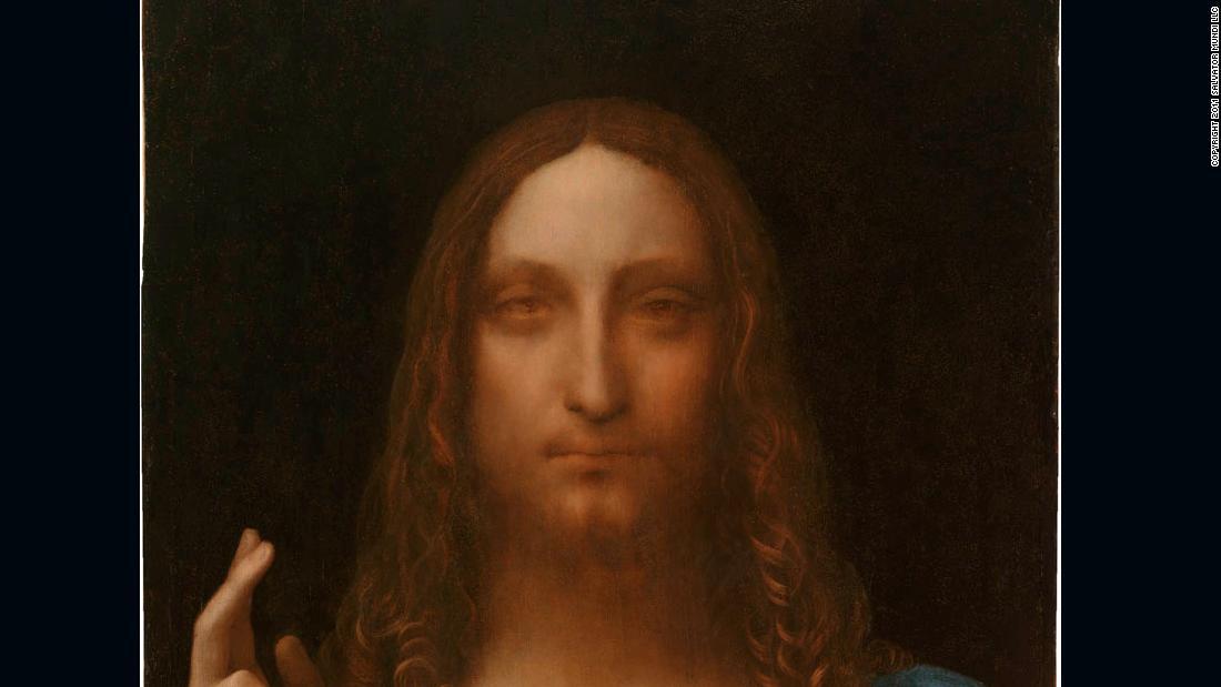 Lukisan Leonardo da Vinci yang ditemukan kembali 'Salvator Mundi' mendapatkan perawatan Broadway