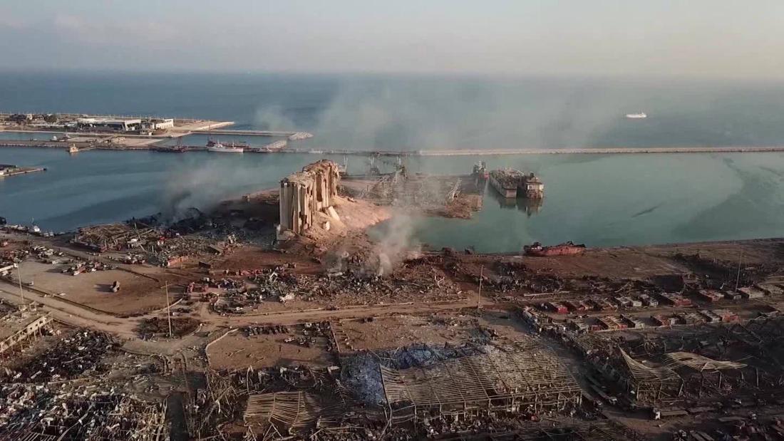 Pembaruan langsung: ledakan Beirut