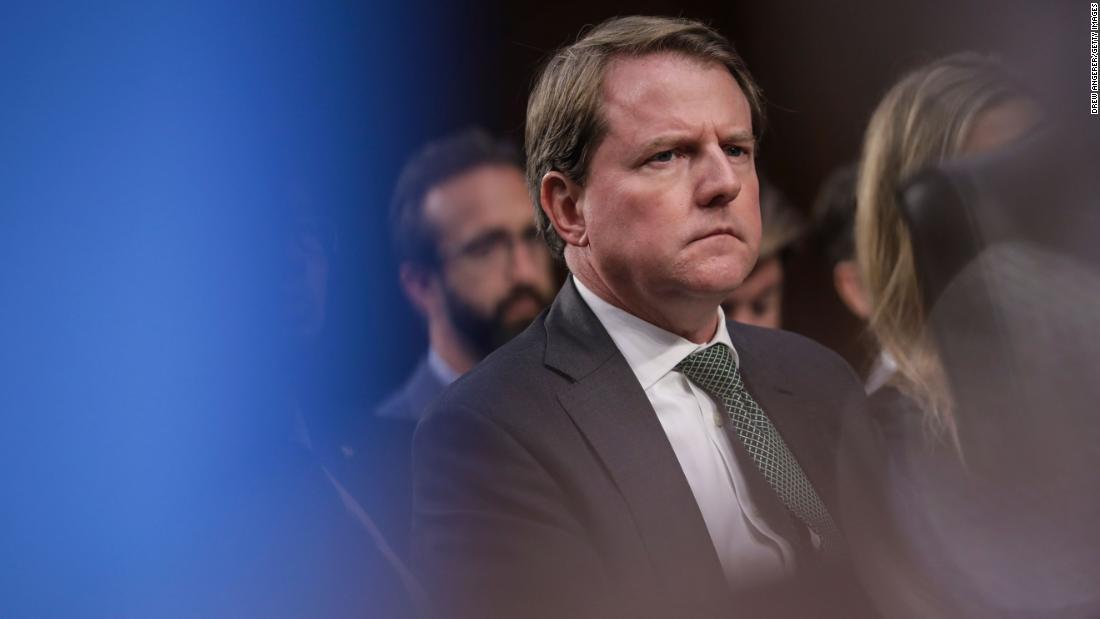 House dapat memanggil Don McGahn untuk bersaksi, mengajukan banding atas aturan pengadilan