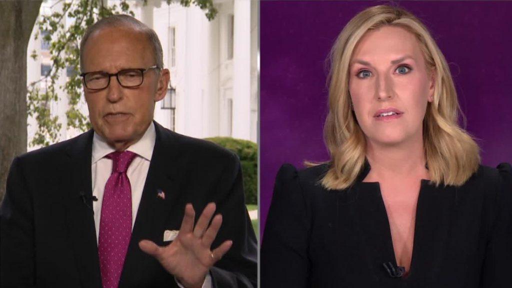Dalam pertukaran yang panas, Poppy Harlow dari CNN menghadapi penasihat ekonomi utama Trump, Larry Kudlow