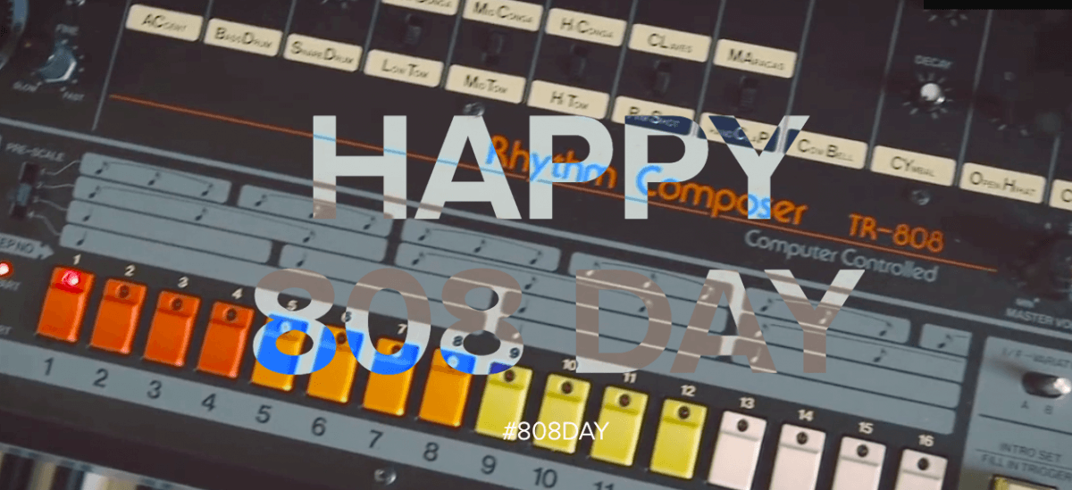 What is 808 Day: Celebrating the legendary Roland TR-808 drum machine