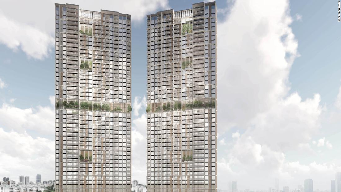 Pencakar langit prefab tertinggi di dunia akan berdiri di Singapura