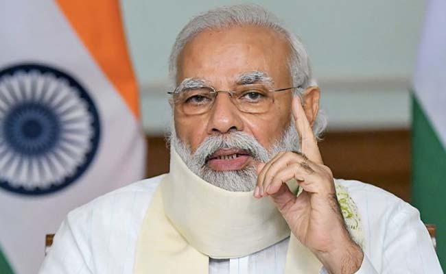 PM Narendra Modi Membahas Situasi Covid-19 Dengan Kepala Menteri 10 Negara