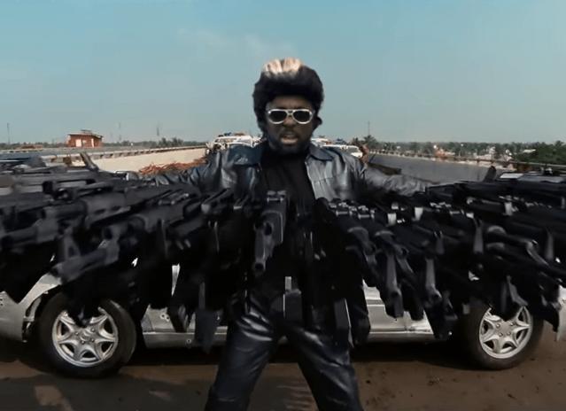 Black Eyed Peas MV Action