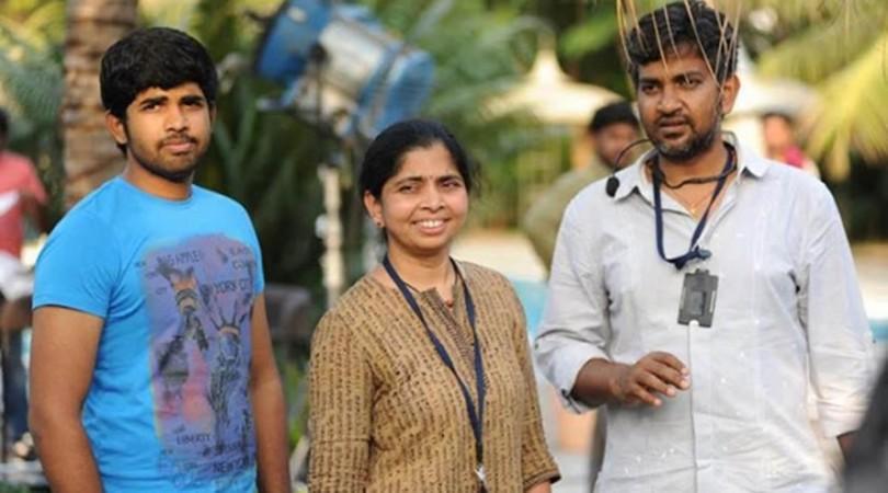 SS Rajamouli bersama putranya Karthikeya dan istri Rama