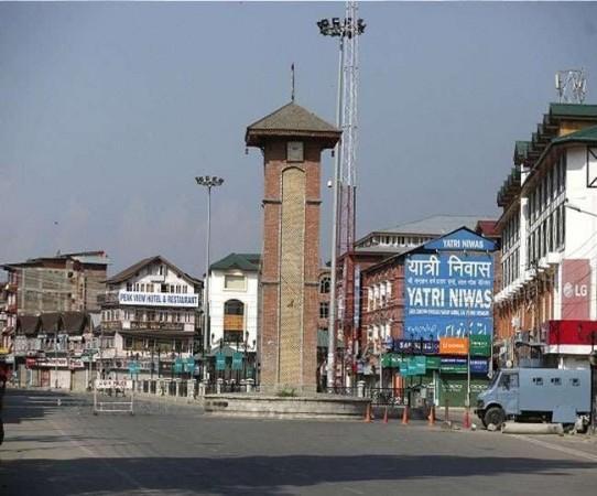 Lal Chowk dari Srinagar