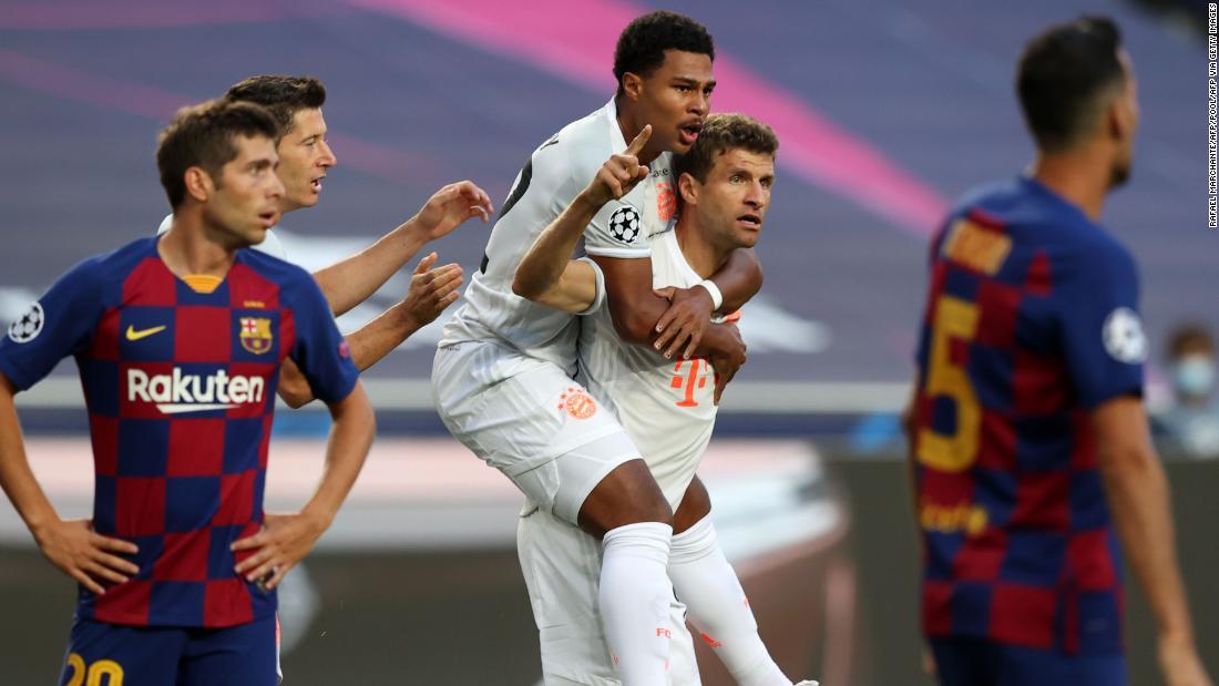 Barcelona mengalami rekor kekalahan melawan Bayern Munich di Liga Champions