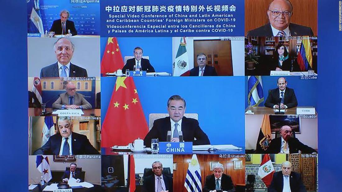 China dan AS berlomba untuk mendapatkan pengaruh di Amerika Latin