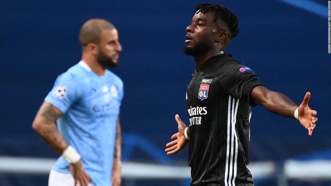 Lyon mengejutkan Manchester City untuk mencapai semifinal Liga Champions