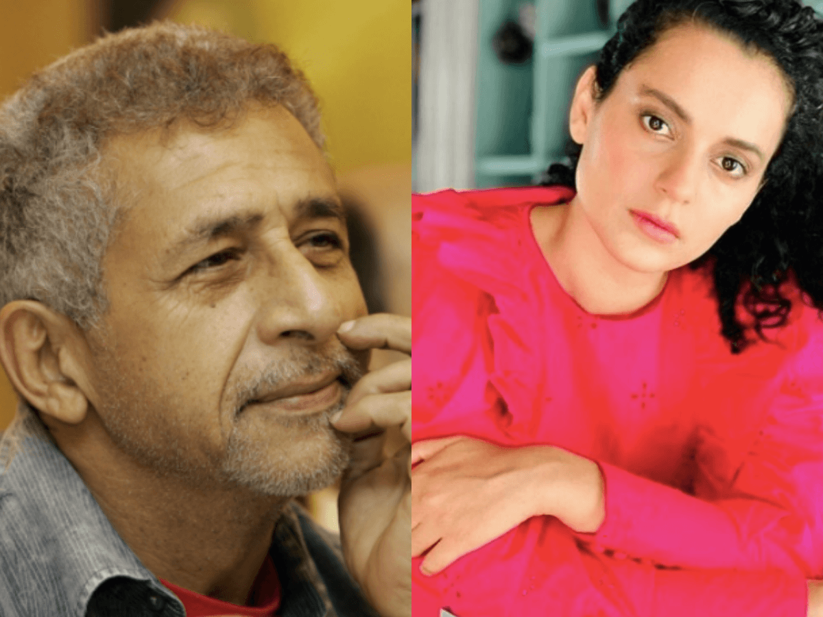 Kangana Ranaut challenges Naseeruddin Shah on his