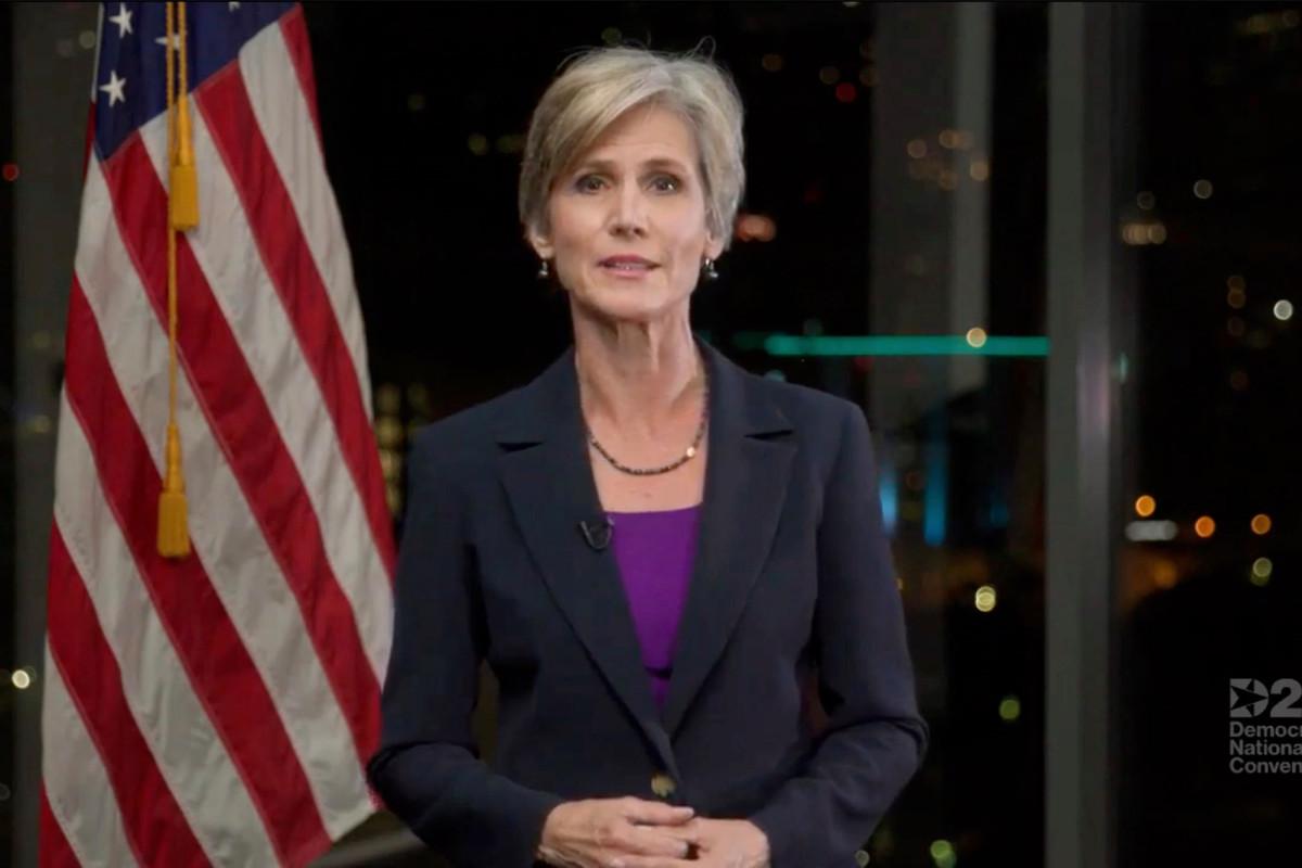 Sally Yates menuduh Trump 'menjilat' atas Putin dalam pidatonya