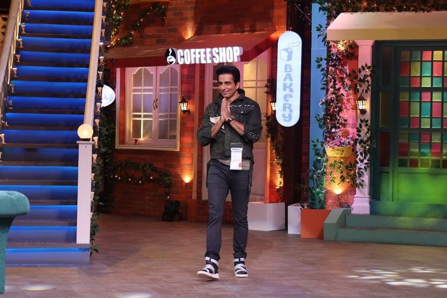 Sonu Sood on The Kapil Sharma Show