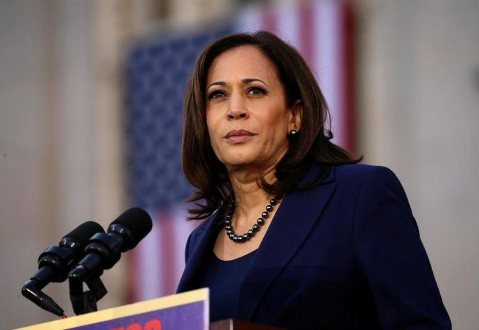 Kamala Harris shout-out to her