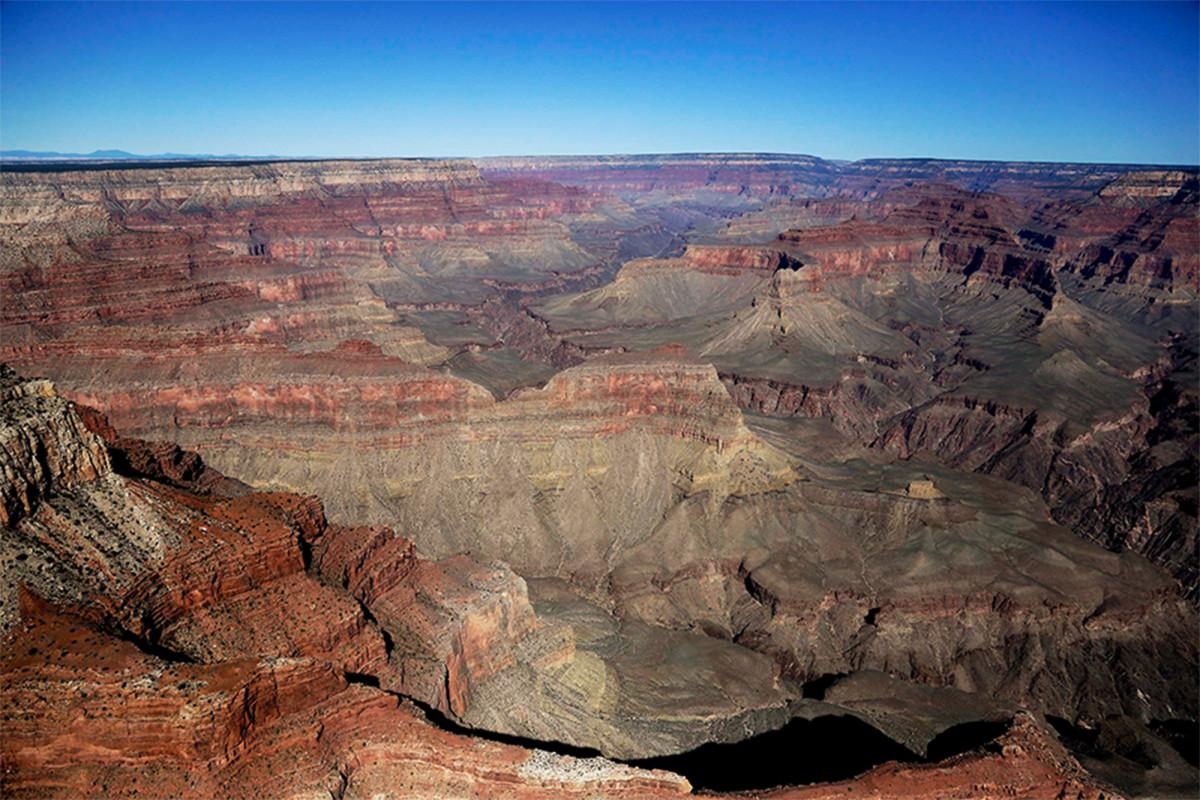 Runtuhnya tebing Grand Canyon mengungkapkan jejak fosil berusia 313 juta tahun