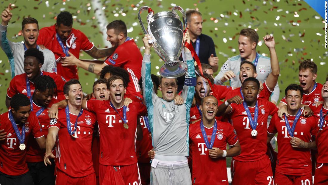 Final Liga Champions: Bayern Munich mengalahkan Paris Saint-Germain untuk mengamankan gelar Piala Eropa keenam