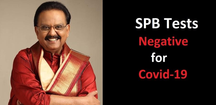 Singer SP Balasubrahmanyam on road to recovery; tests negative for Covid-19