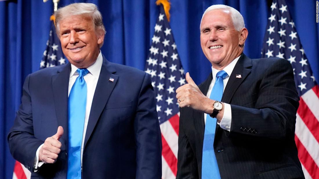 Donald Trump dan Partai Republik berupaya mengubah narasi tahun 2020 saat malam pertama konvensi mereka sedang berlangsung