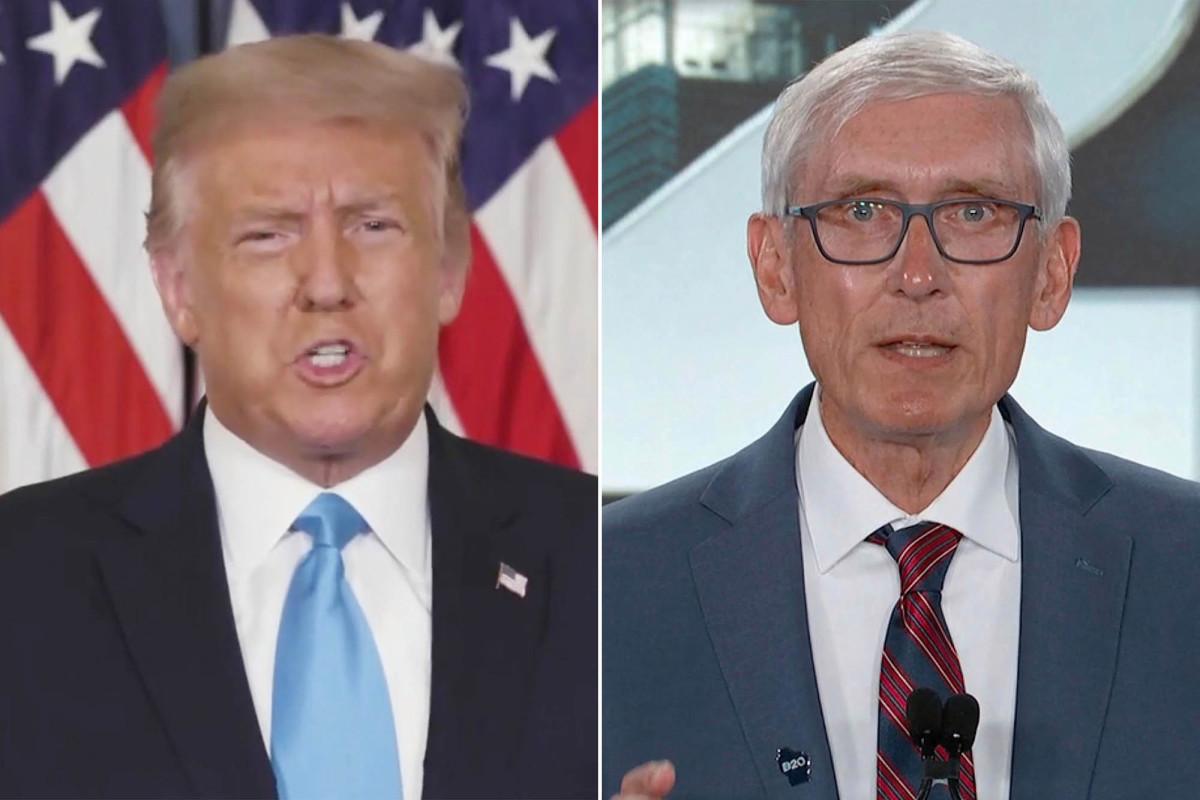 Trump mendesak gubernur Wisconsin untuk mengakhiri kerusuhan 'CEPAT!'
