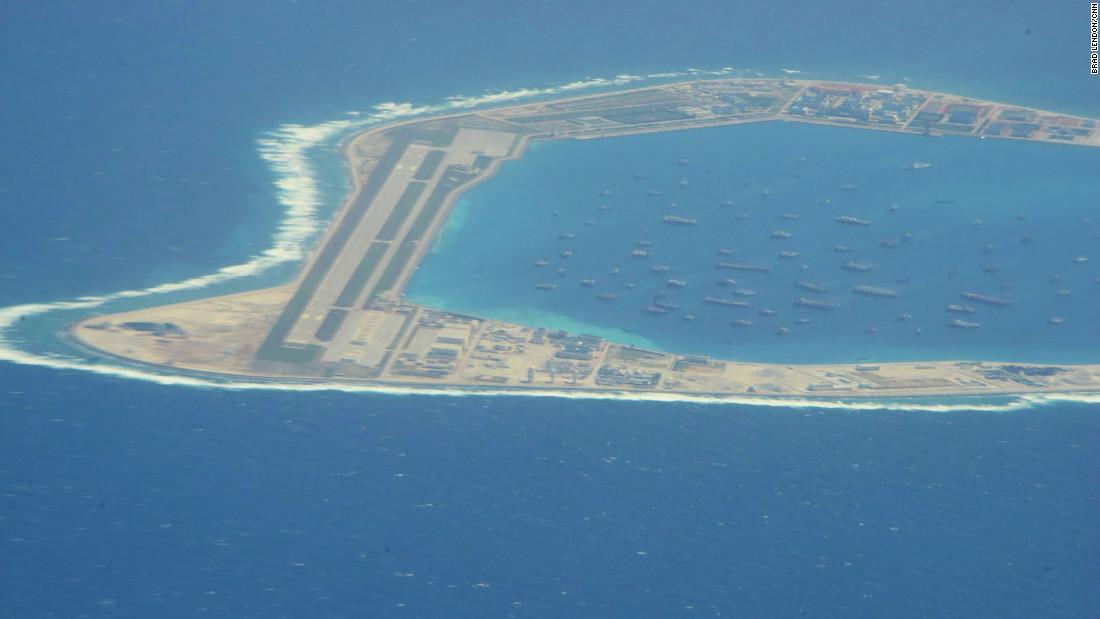 AS menjatuhkan sanksi kepada 24 perusahaan China atas pembangunan pulau di Laut China Selatan