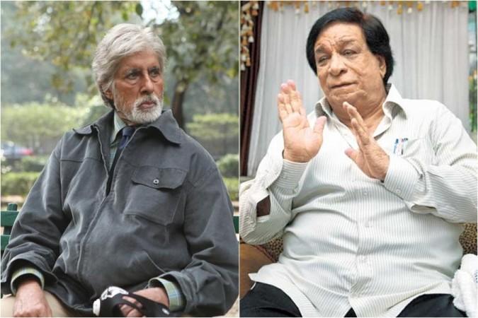 Amitabh Bachchan dan Kader Khan