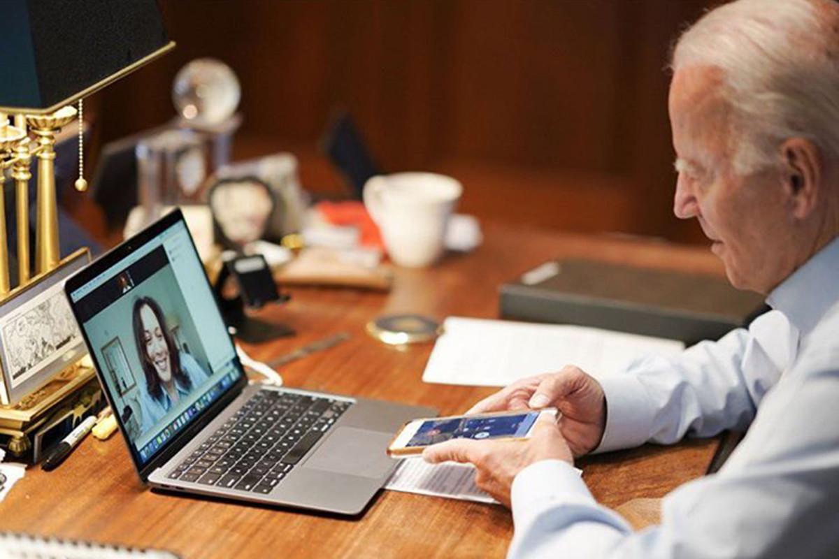 Biden diejek karena menggunakan skrip untuk menyadap Kamala Harris sebagai pasangannya: lapor
