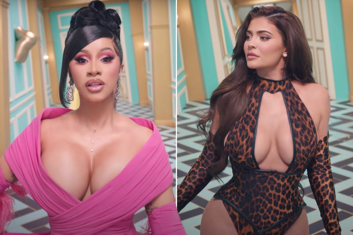 Cardi B membela menempatkan Kylie Jenner dalam video musik 'WAP' -nya