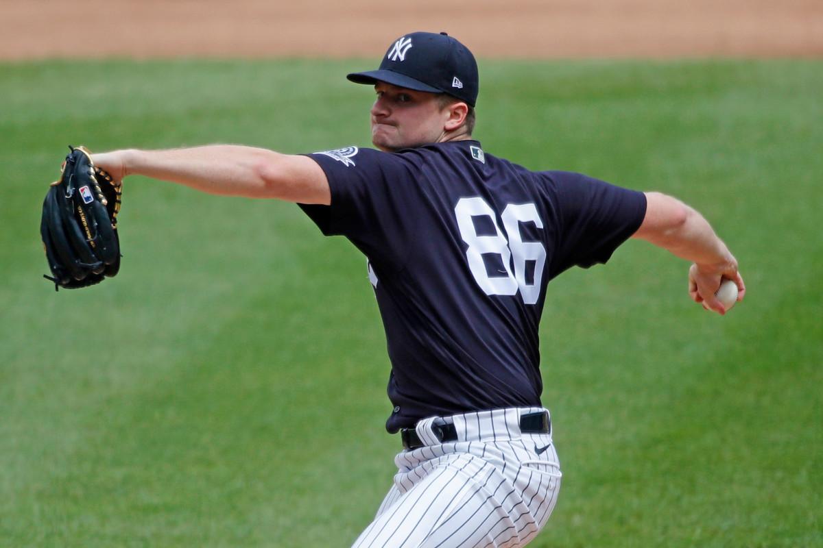 Clarke Schmidt bagian dari kedalaman Yankees yang dapat membantu penderitaan cedera