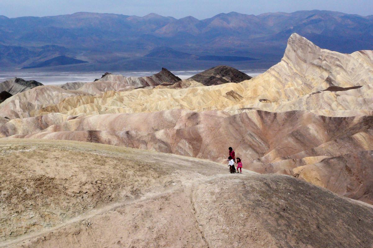 Death Valley mencapai 130 derajat, berpotensi suhu tertinggi di Bumi