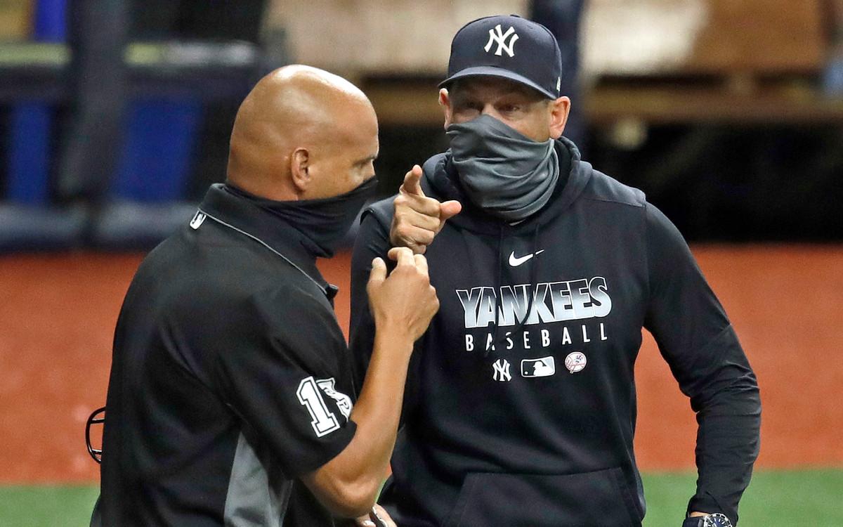Di dalam Ejeksi Aaron Boone Yankees: 'Hampir Tentang Sejarah'