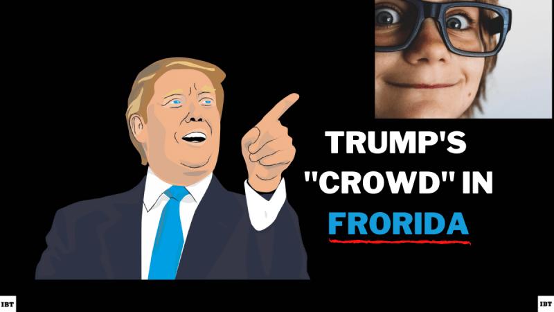 Trump menemukan Frorida.
