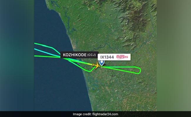 Flight Radar 24 Mengindikasikan Pesawat Air India Specific Mencoba Mendarat Dua Kali Di Bandara Kerala