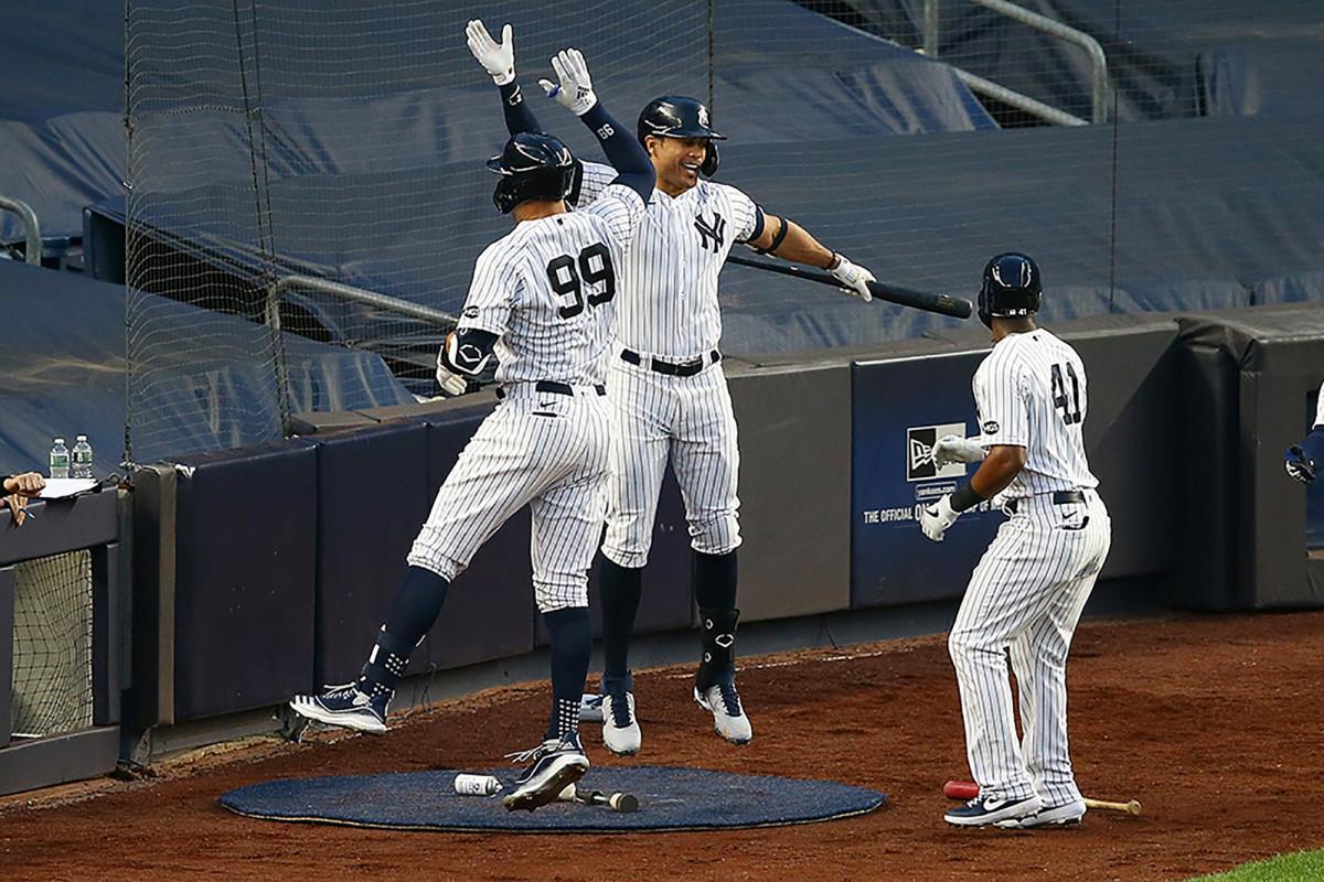 Giancarlo Stanton dari Yankees berharap kerangka yang lebih ramping membantunya menghindari cedera