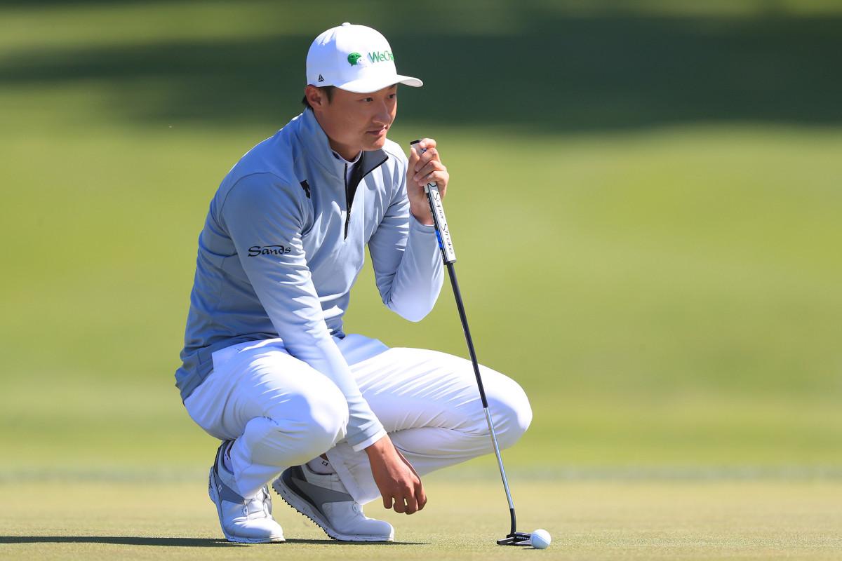 Haotong Li adalah kejutan pemimpin Kejuaraan PGA setelah babak panas