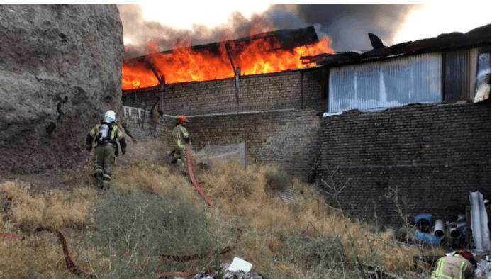 Iran: 4 hurt in blast, fire in publishers